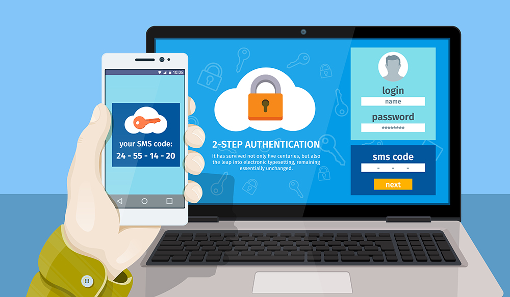 Be more secure…use Two-Factor Authentication
